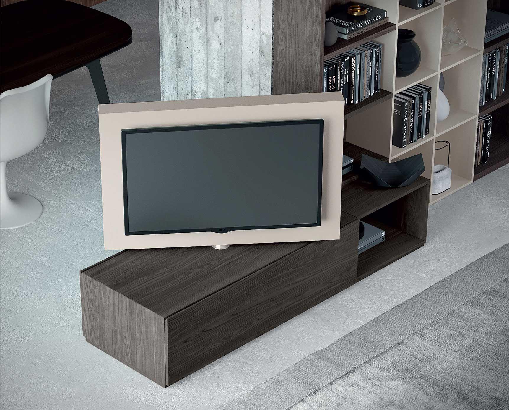 Base Porta Tv Girevole.Porta Tv Girevole 360 Dettaglio Prodotto Colonne Nel