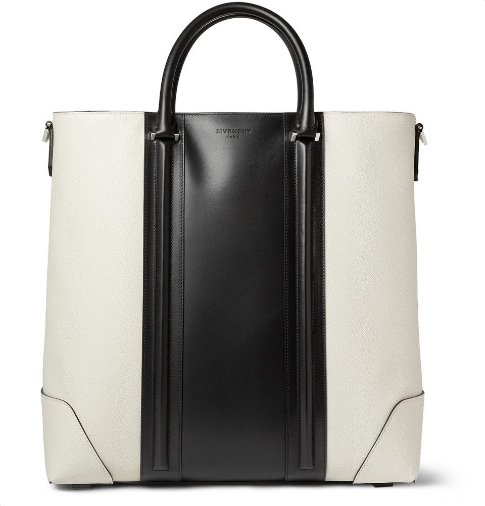 Givenchy - Textured-Leather Tote Bag |MR PORTER