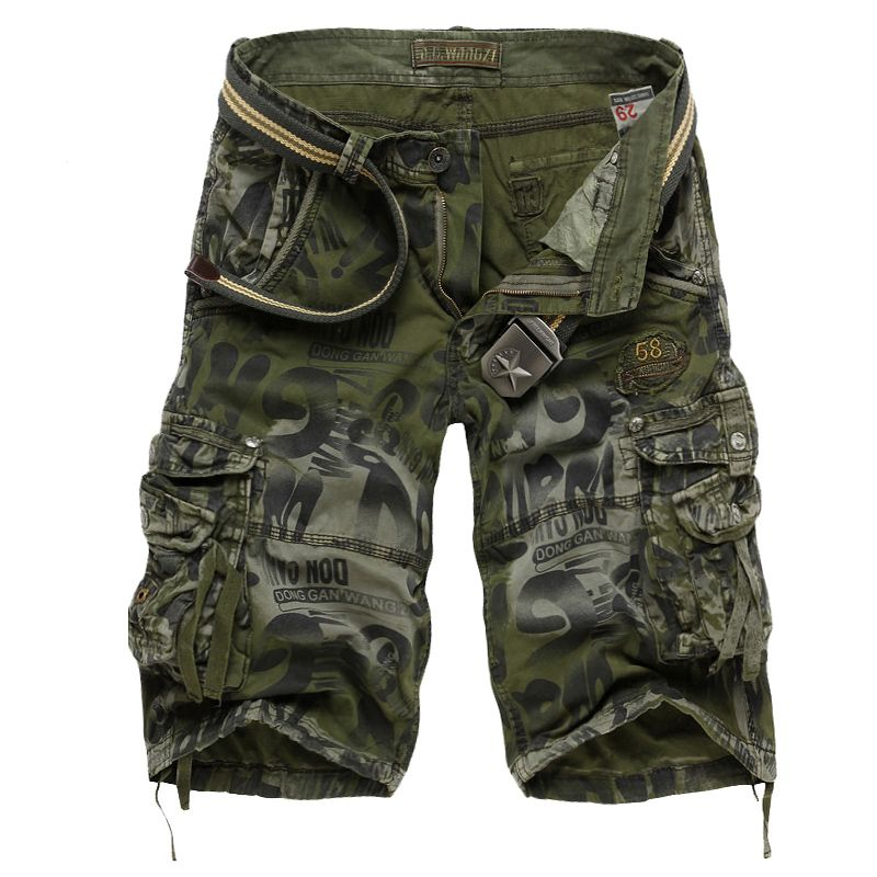 Men's Camouflage Army Cargo Shorts 2017 Summer Men Military Shorts ...