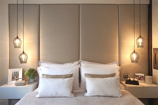 Pendant Lighting Idea Hang Pendants Next To Your Bed Master