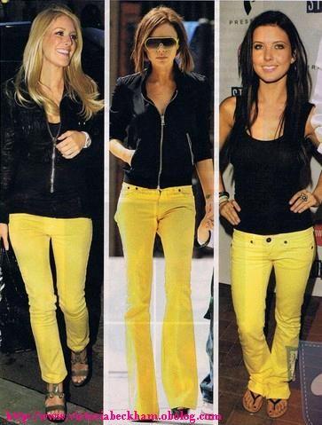 5d441471ef pantalón amarillo Pantalones Cortados