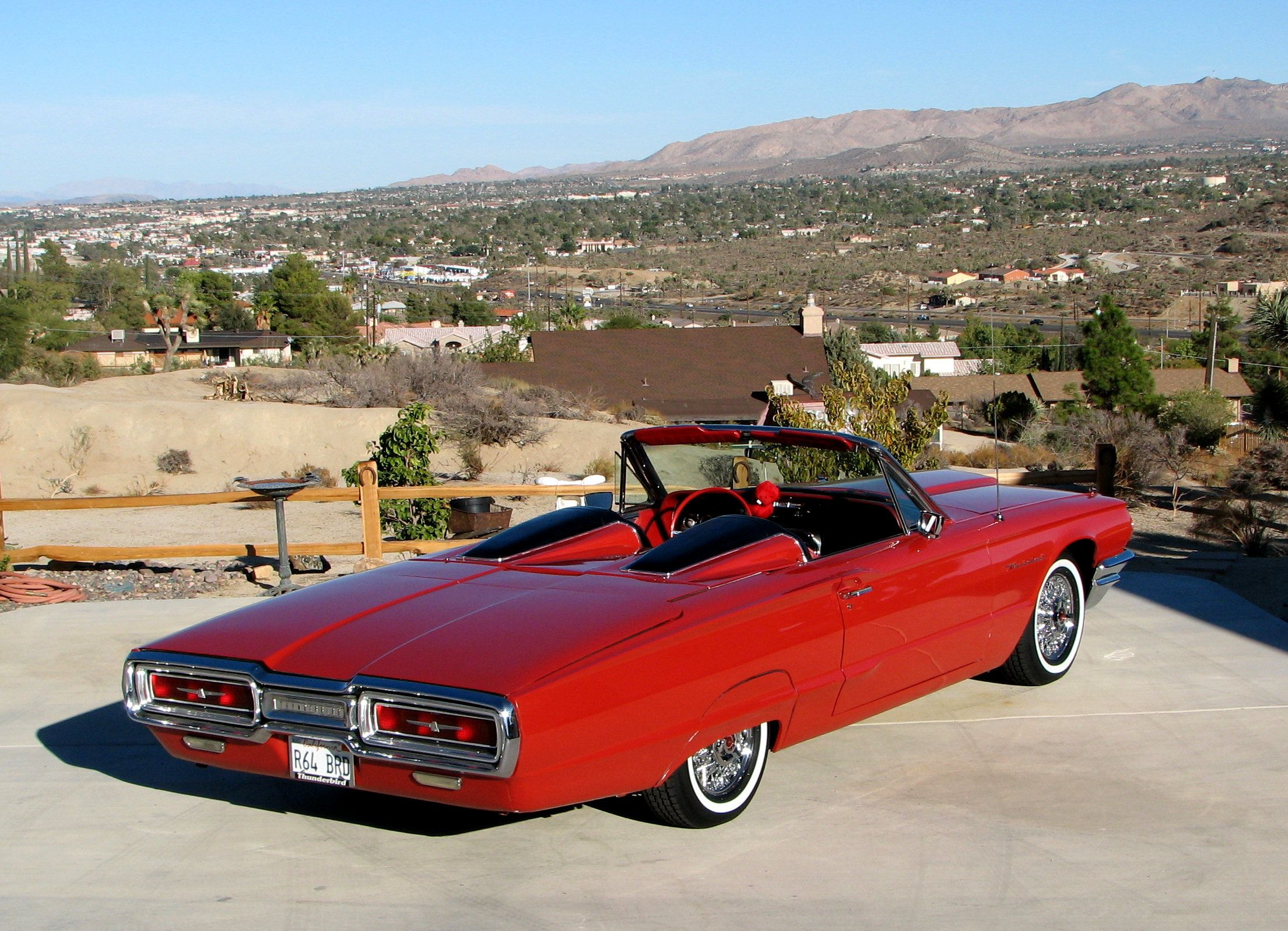 64 Rear Wire Cars Pinterest Ford Thunderbird And 1964 Wiring