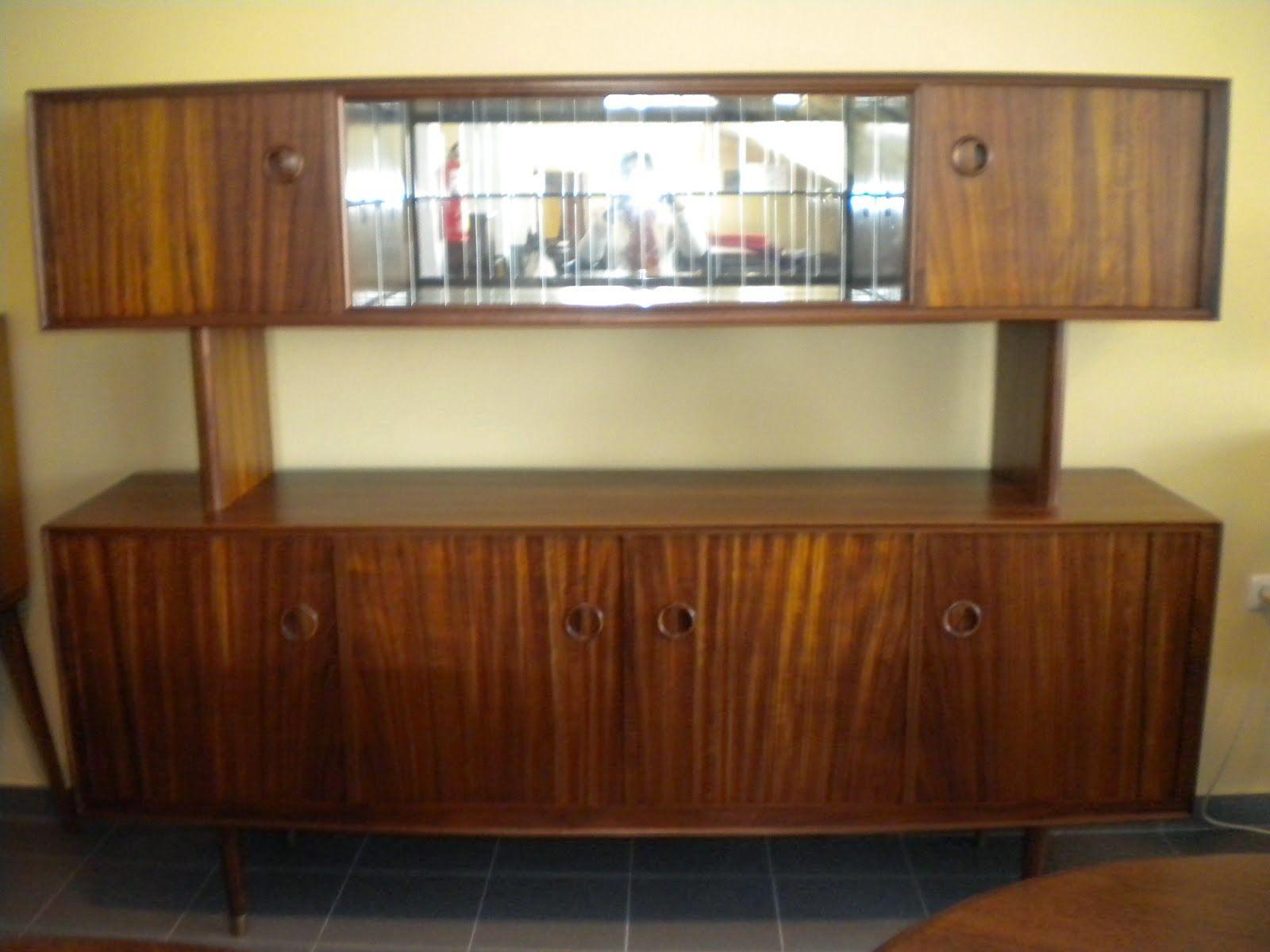 é DE + Vintage: Movel vintage de sala
