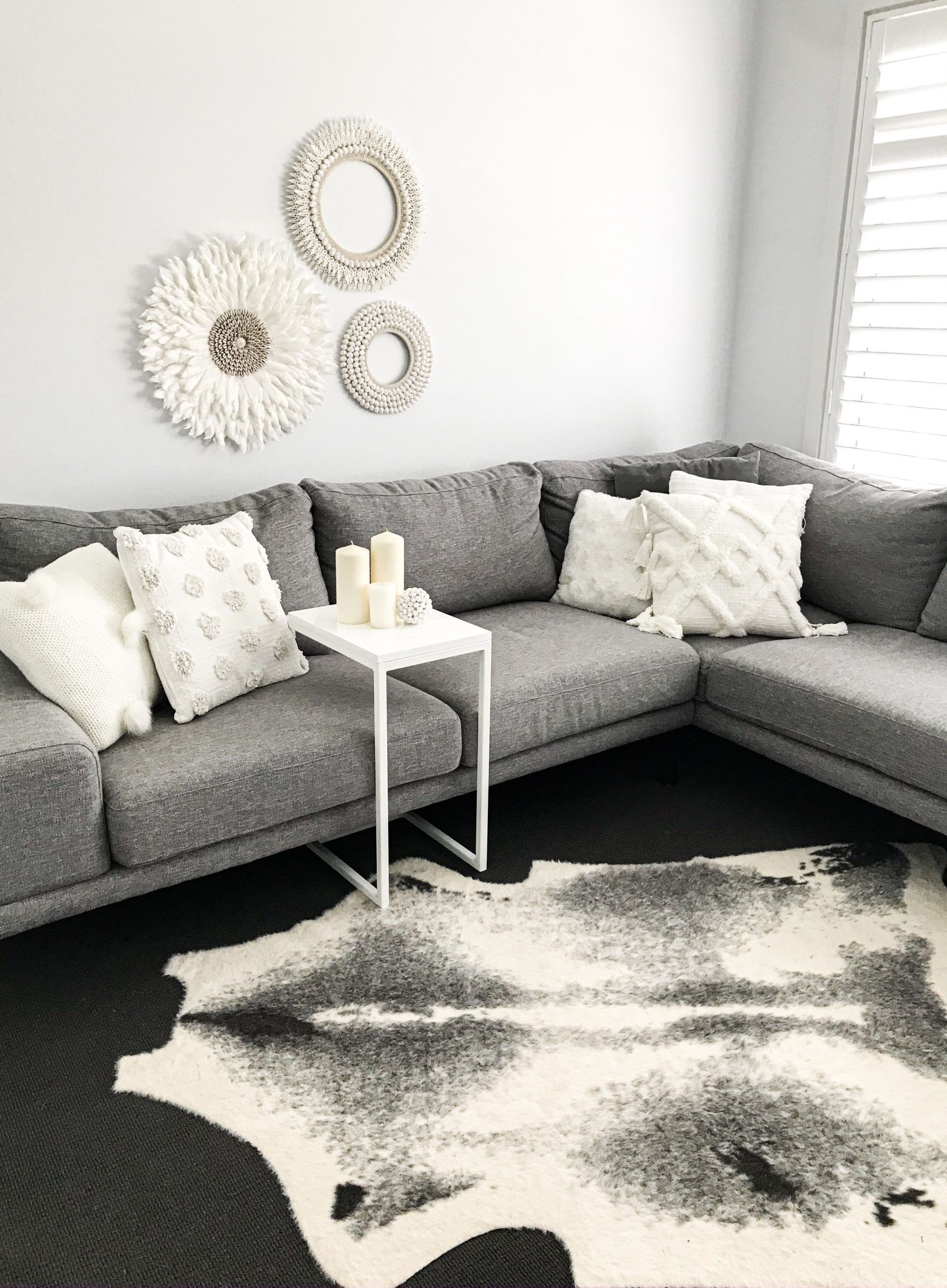 Living Room Designs Grey Couch Living Room Grey Couch Styling Kmart Rug Kmar Couch Designs In 2020 Grey Couch Living Room Living Room Style Couches Living Room