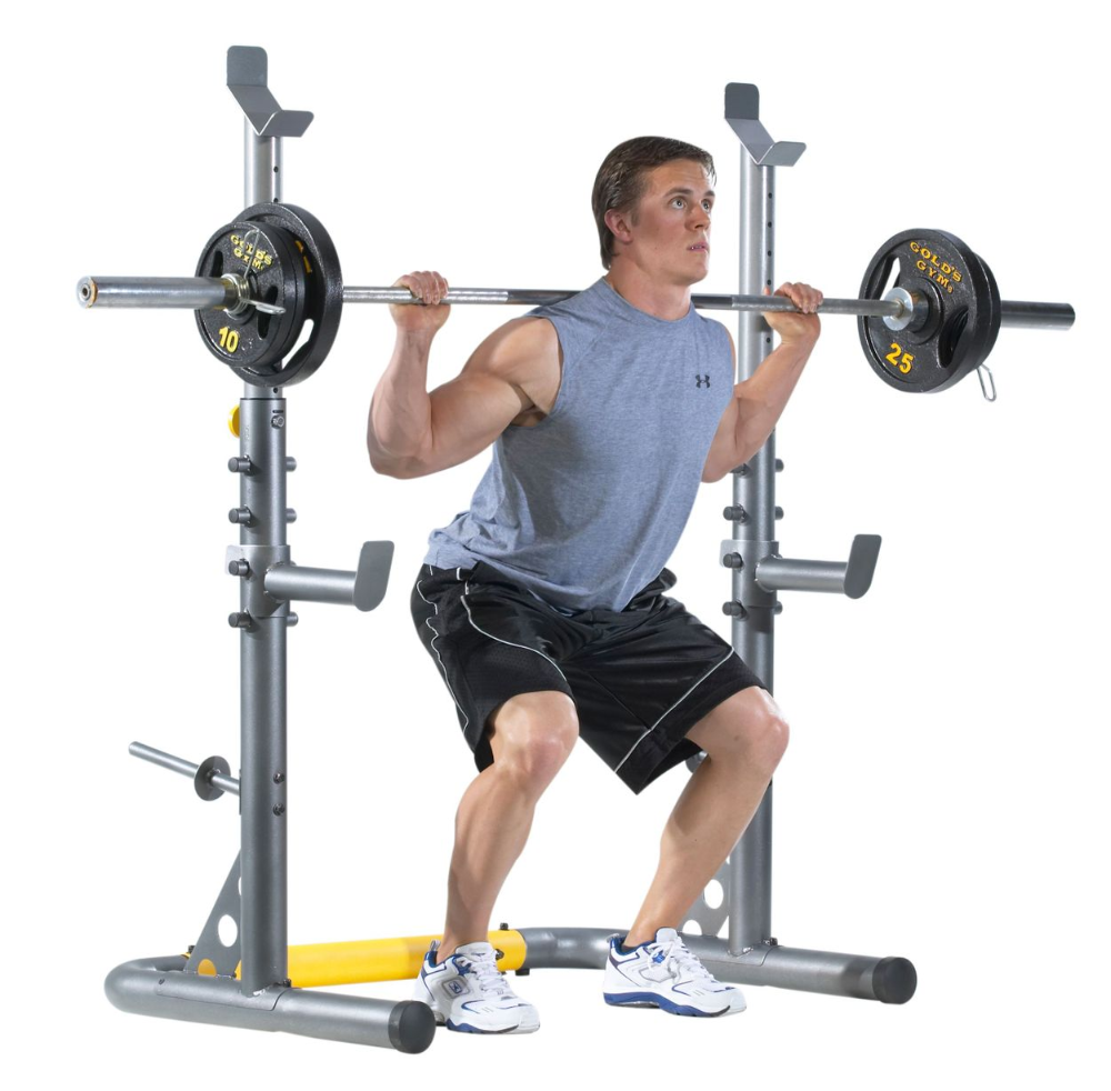 Sports & Outdoors (With images) Squat rack, Adjustable