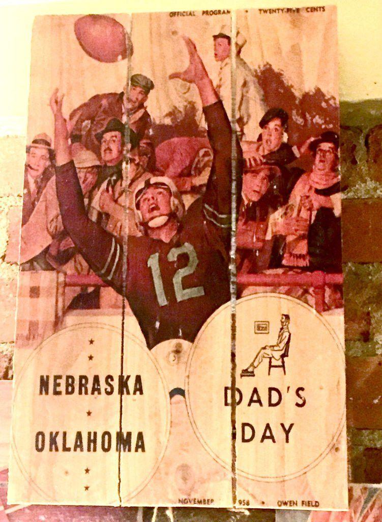 Sooner Dad's Day Palette Art