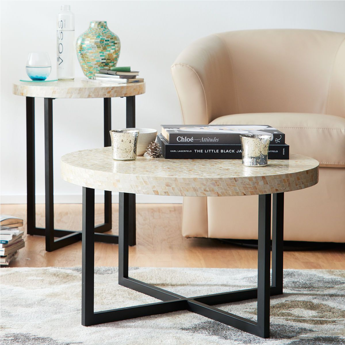 Mother Of Pearl Coffee Table | Pier 1 Imports