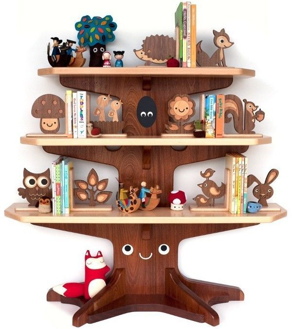 wooden bookends. amazing Baum bücherregal, Kinder holz