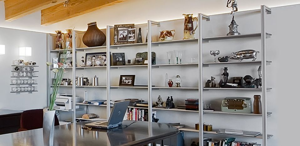Rakks provides modern, architectural shelving and shelf support systems for  architects, designers, interior designers and home owners.