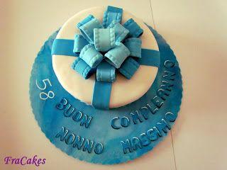 cake design Torta compleanno nonno Massimo Piccolo pensierino per