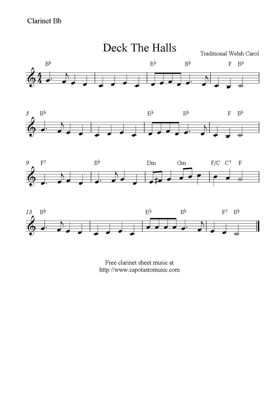 Clarinet Sheet Music Christmas.Christmas Clarinet Sheet Music Free Google Search Music