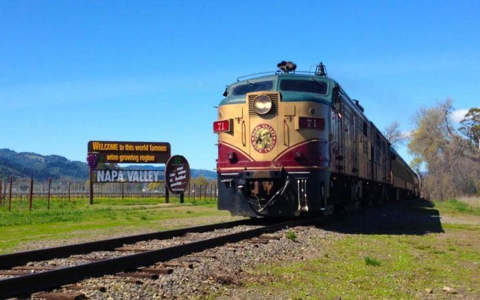 This Epic Train Ride Near San Francisco Will Give You An Unforgettable Experience Napa Valley Wine Train Napa Valley Wine Tours Napa Valley Trip