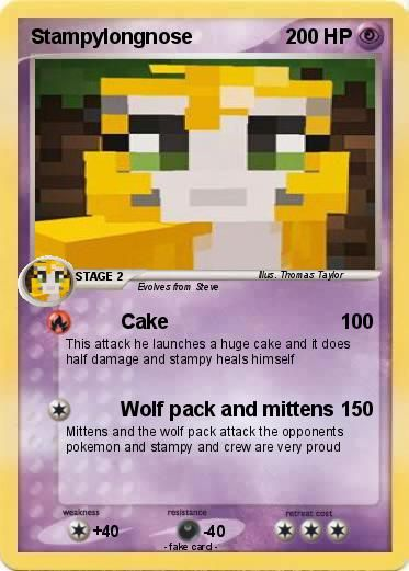 D D D D D D D That S The Funniest Thing I Ve Seen All Day Clever But Funny D Stampylongnose Stampy Funny Pokemon Cards