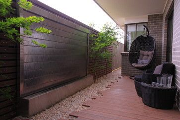 Fire and Water - modern - landscape - sydney - by ecodesign Pty Ltd