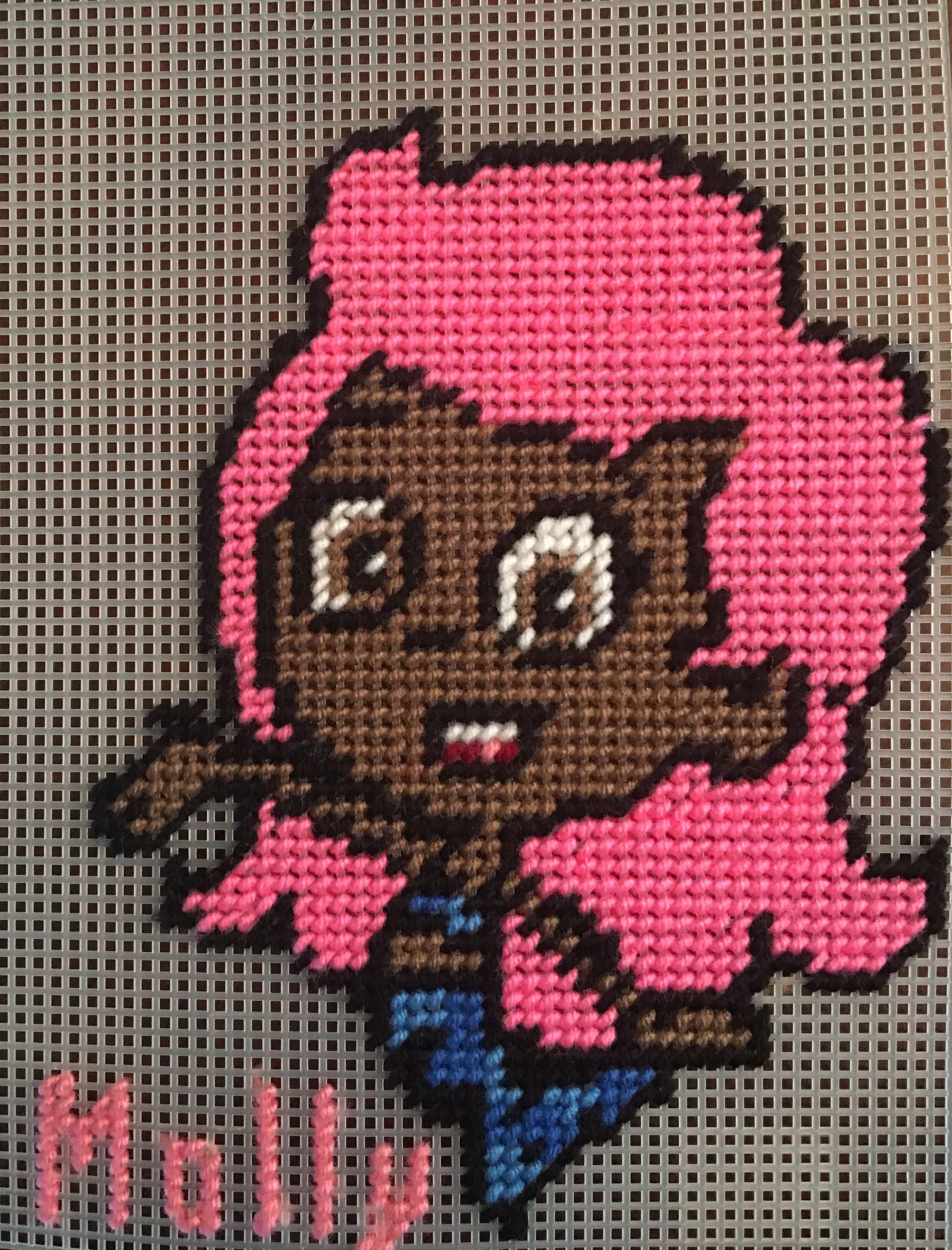cross stitch bubble guppies molly by me marcelle powell