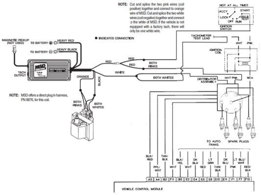 Chevy Hei Msd Ignition Wiring Msd