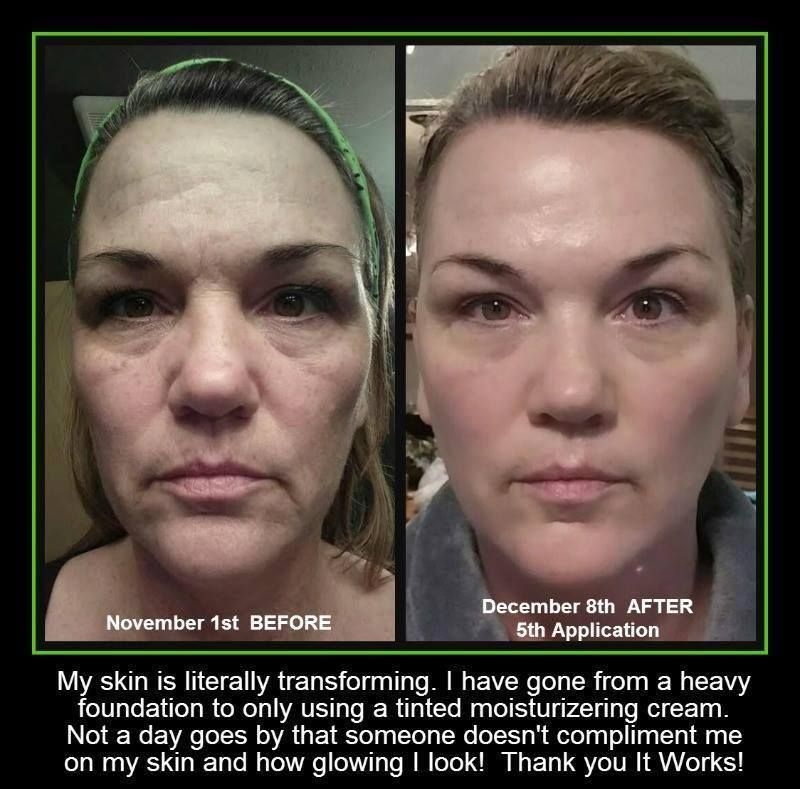 Fabulous She Used It Works Cleanser Exfoliating Peel Facial Wrap Show Short Hairstyles For Black Women Fulllsitofus