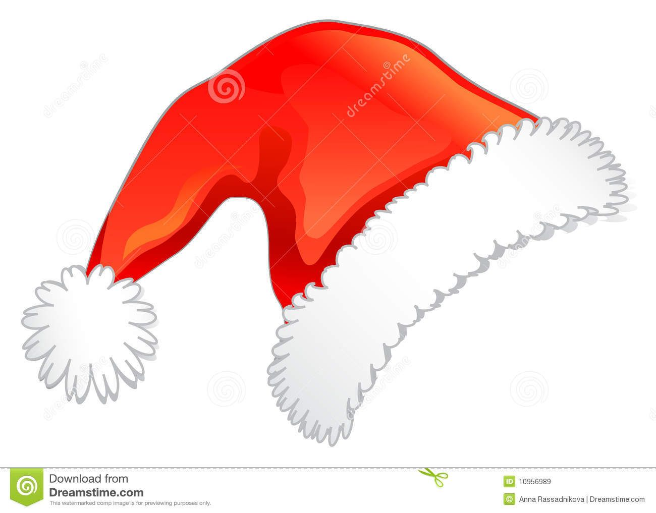 Red Christmas Hat Santa S Red Hat Isolated On White Background Sponsored Christmas Hat White Santa Red In 2021 Christmas Hat Red Christmas Red Hats