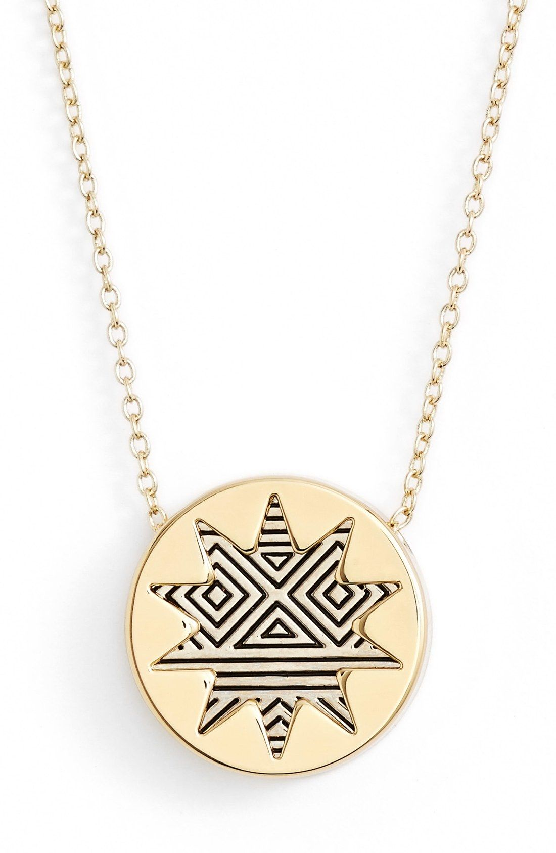 Current crush this pendant necklace from house of harlow the
