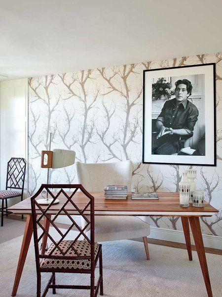 Ideas para vestir tus paredes Eres unico Despacho y Papel pintado