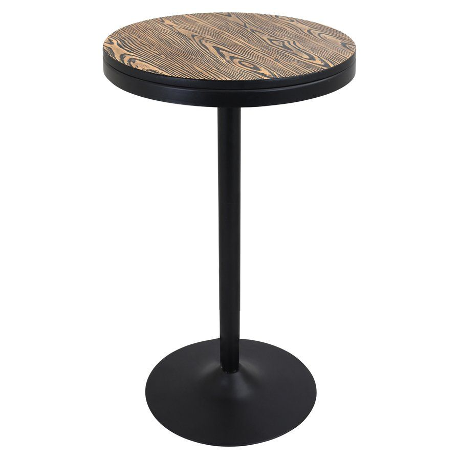 Yoshiko Adjustable Height Pub Table Kla Kitchen Island Bar