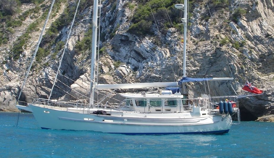 2007 Fisher 46 MKII Sail New and Used Boats for Sale - | Trawler in