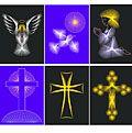 String Art Fun Value Pack No. 3: Religious