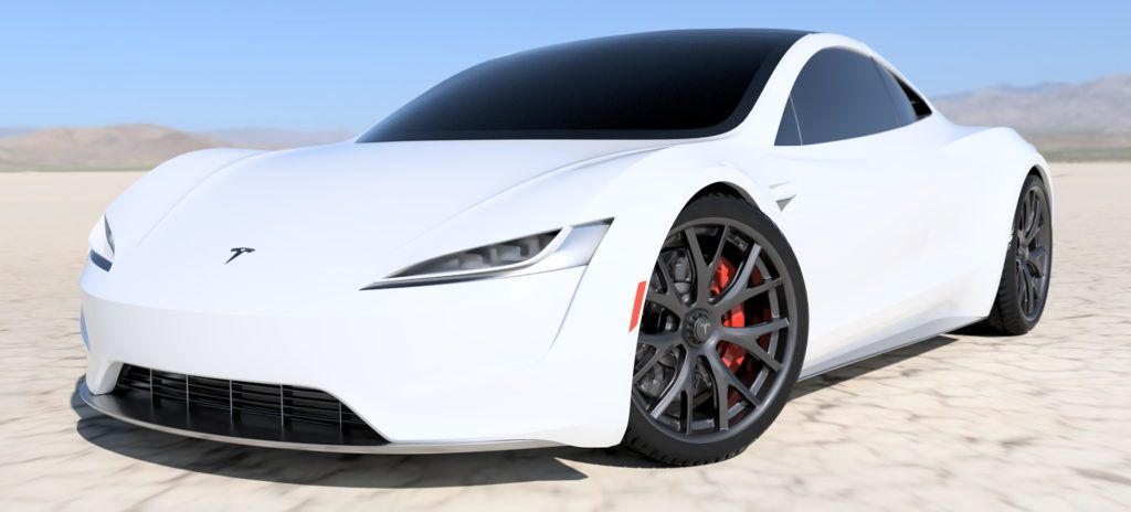 Photo of See some jaw-dropping renders of the 2020 Tesla Roadster in red, white and more