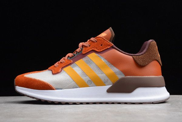 2020 adidas X_PLR BrownCoffee White EE7246 Shoes For Men in