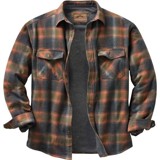 Graham Wa Weather >> High quality construction and detail make this insulated flannel a standout Legendary® shirt jac ...
