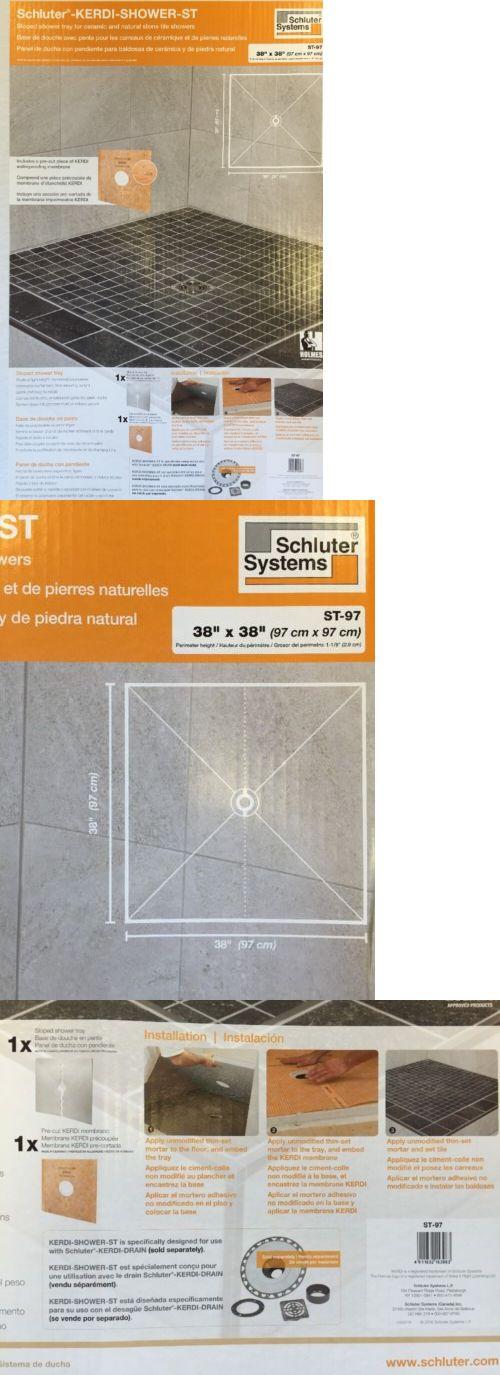 Other Flooring 20604: Schluter Kerdi Shower Tray 38 X38  U003e BUY IT NOW ONLY