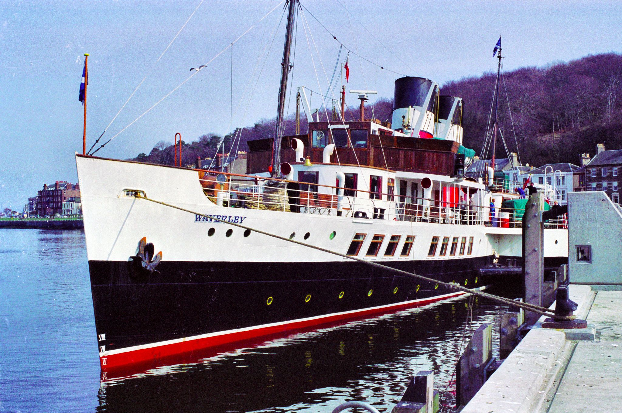 P S Waverley At Rothesay Pier Boat Trips Cruise Ship River Boat