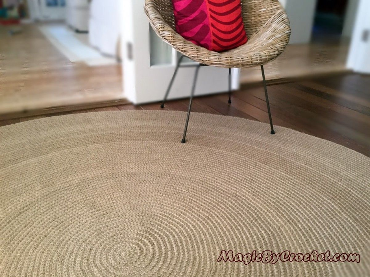 Premium Jute Area Rug 10 Ft 300 Cm Large Natural Jute Rug Hand Crochet No 004 Jute Area Rugs Natural Jute Rug Modern Rugs