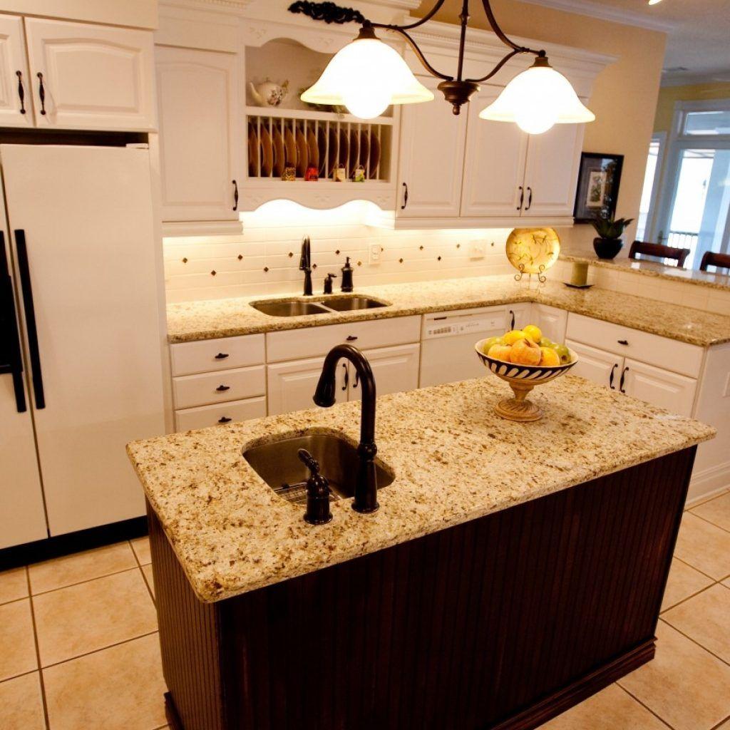 Small Kitchen Island With Prep Sink   Kitchen design small, Small ...