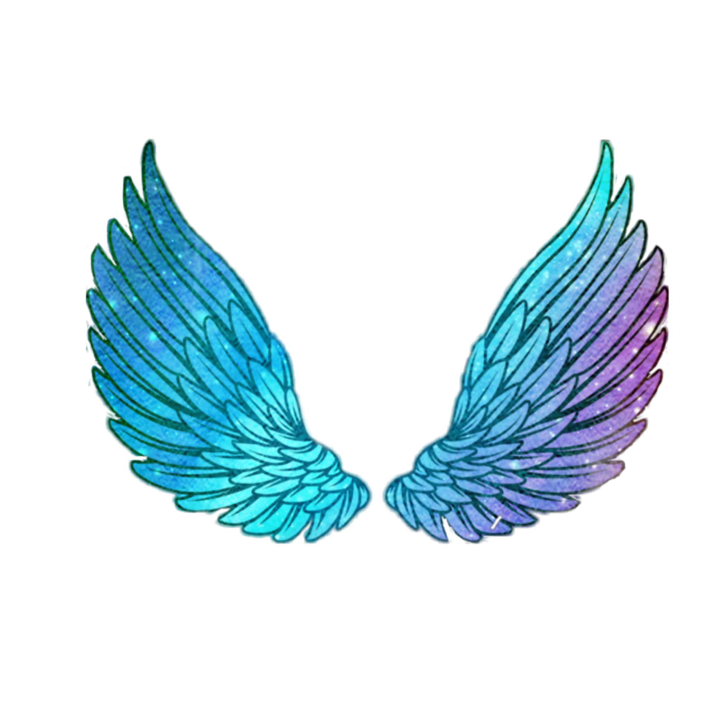 Freetoedit Angelwings Angek Galaxy Tumblr Picsart Remixit Wings Wallpaper Wings Drawing Best Tattoos For Women