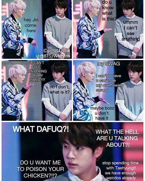 Hehehaha what? Yoonjin ❤ #BTS #방탄소년단