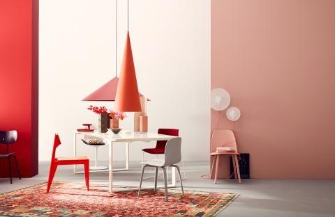 24 Wandfarbe Apricot Schoner Wohnen
