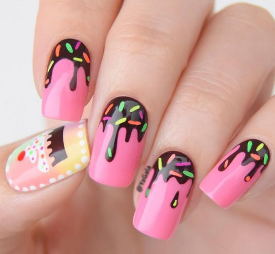 30 Happy Birthday Nail Art Design Ideas With Images
