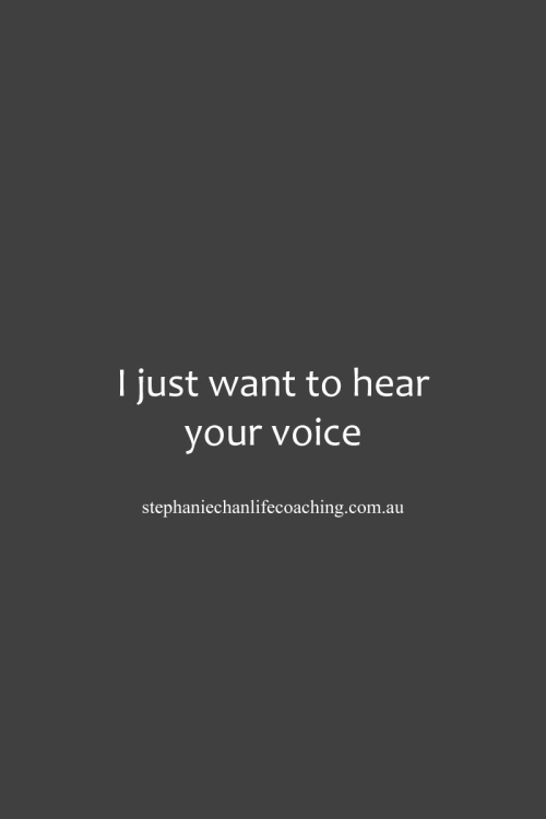 Your Voice Quotes