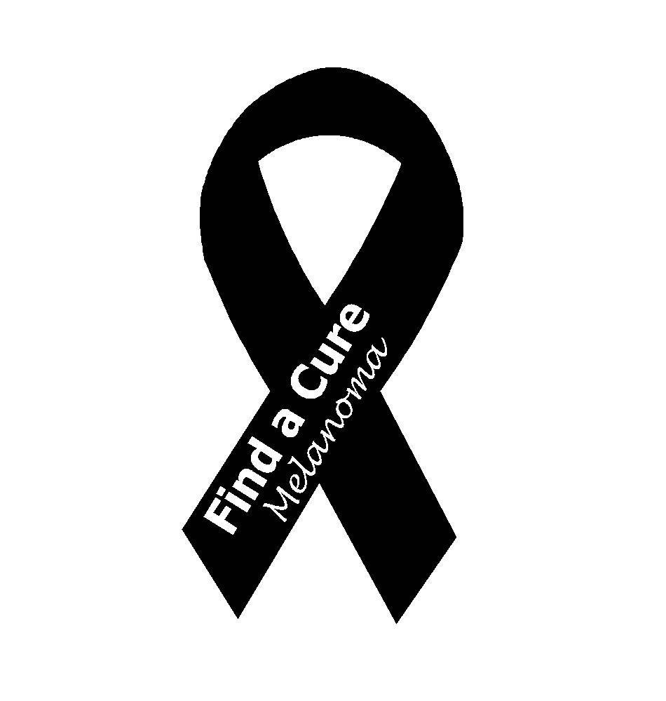 Pin On Black Ribbon For Melanoma