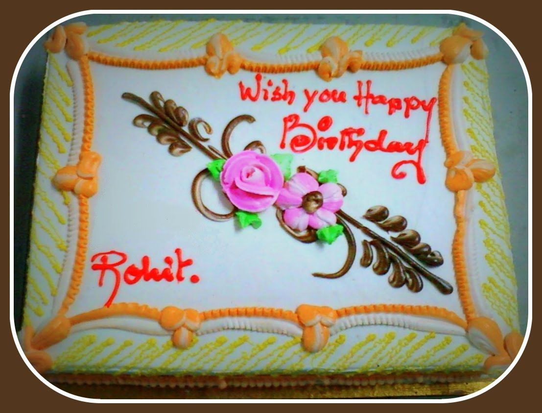 Happy Birthday Rohit Wishes Cake Images Wishes Quotes Sms