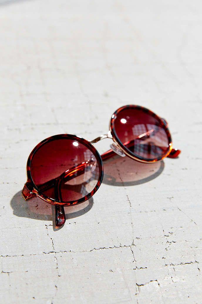 Both Worlds Round Sunglasses | Pinterest