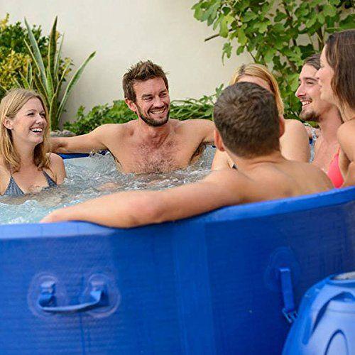 Lay Z Spa Monaco Inflatable Hot Tub 2013 8 Person Bw54113 Free