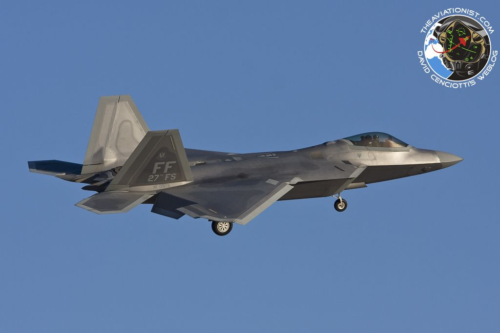 Tasked for air-to-ground configuration,F-22 Raptor can carry 2 1,000-b GBU-32 Joint Direct Attack Munitions, along with AIM-120s AMRAAMs radar-guided missiles & AIM-9 Sidewinder IR-guided missiles.With software increment 3.1 or higher,can also drop 8 GBU-39 small diameter bombs,250lb multipurpose,insensitive,penetrating, blast-fragmentation warhead for stationary targets,equipped with deployable wings for extended standoff range.Particularly useful to improve accuracy & reduce collateral…
