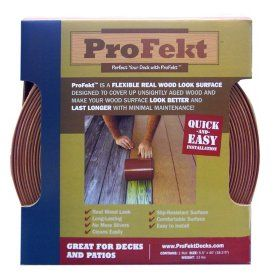 Profekt™Decking Strip - Redwood | Deck repair, Deck