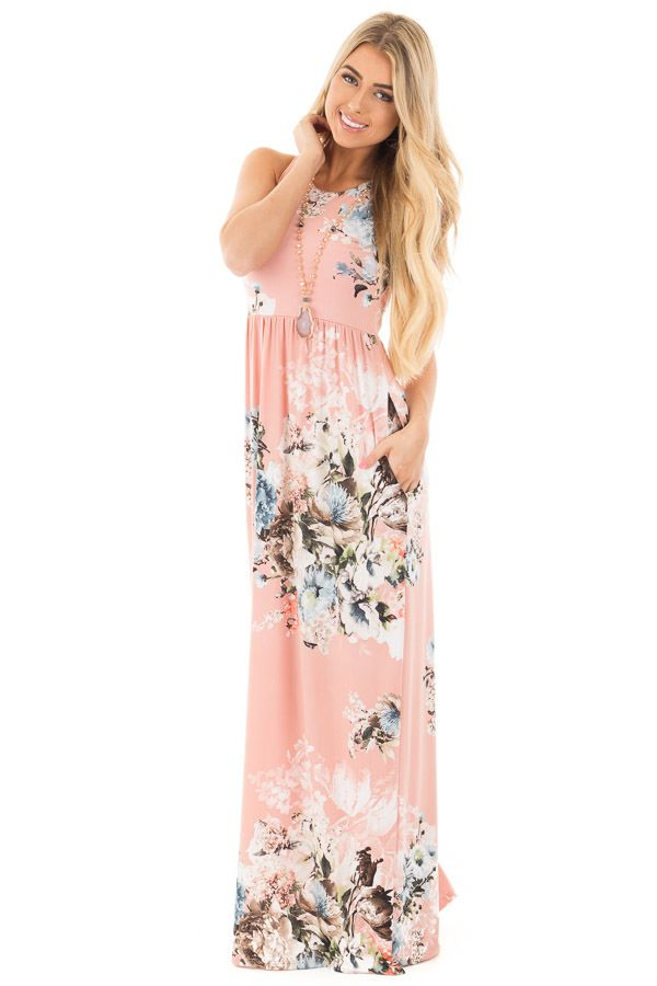 High low hem maxi dress by miss lushhh