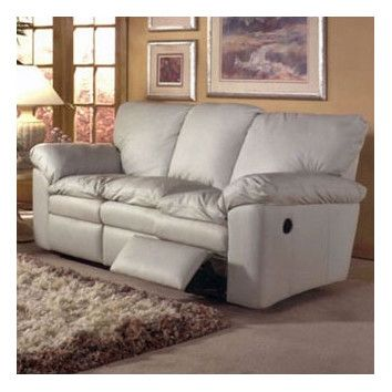 Omnia Furniture El Dorado Leather Reclining Loveseat With Images