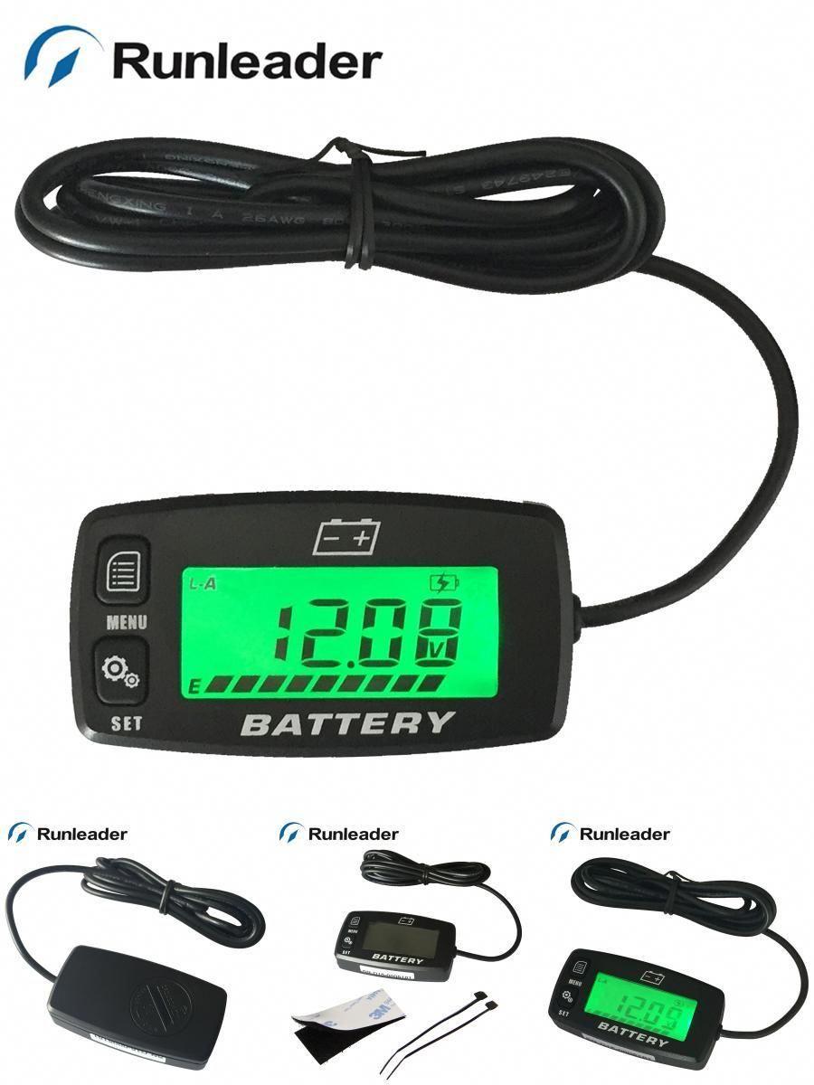 hight resolution of  visit to buy 12v 24v 36v 48v battery indicator battery charge meter voltmeter for golf carts electric vehicle marine car rl bi008 advertisement