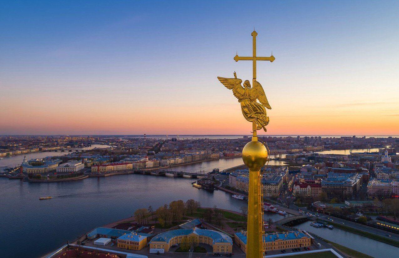 ангел петропавловского собора фото