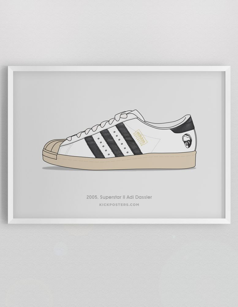 adidas superstar with boost sole illustration #sneakerart